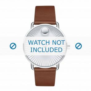 Movado Uhrenarmband 3680038 Leder Cognac 20mm
