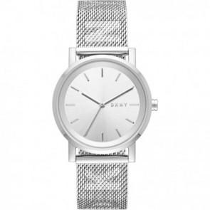 Uhrenarmband DKNY NY2620 Stahl Stahl 18mm