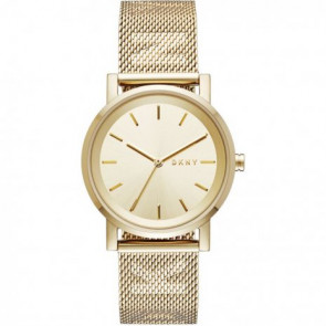 Uhrenarmband DKNY NY2621 Stahl Vergoldet 18mm