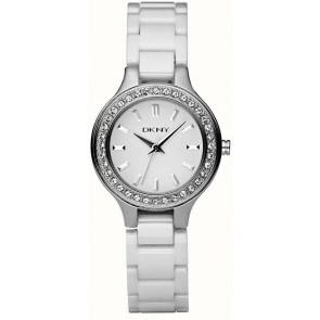 Uhrenarmband DKNY NY4982 Keramik Weiss