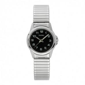 Olympic Uhrenarmband OL26DSS107 Metall Silber 15mm