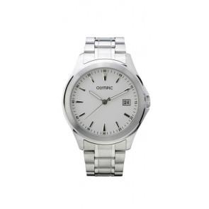 Olympic Uhrenarmband OL26HSS240 Metall Silber 20mm