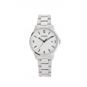 Olympic Uhrenarmband OL26HSS280 Metall Silber 18mm