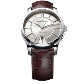 Uhrenarmband Maurice Lacroix PT6148-SS001-130 / ML550-005 Krokodilhaut Braun 20mm