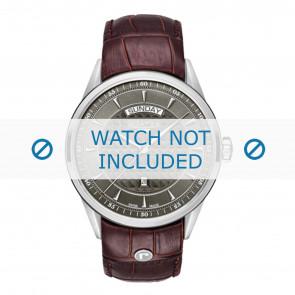 Roamer Uhrenarmband 508293-41-05-05 Leder Braun 22mm + standardnähte
