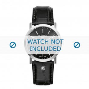 Roamer Uhrenarmband 937830-41-50-09 Leder Schwarz 22mm + standardnähte