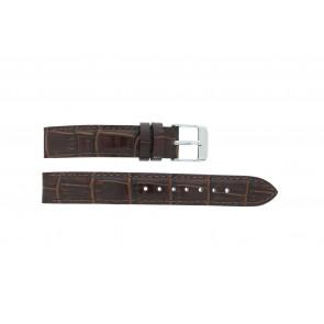 Lorus Uhrenarmband V501 X292 / RRS73UX-9 / V501- X29201A Leder Braun 14mm + standardnähte