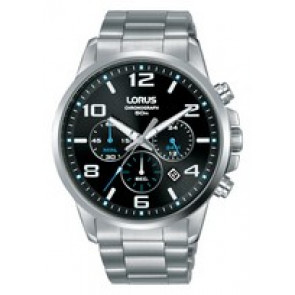 Uhrenarmband Lorus VD53-X317-RT391GX9 Stahl Stahl