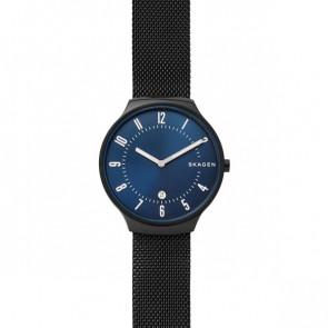 Uhrenarmband Skagen SKW6461 Stahl Schwarz 18mm
