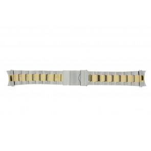 Prisma Uhrenarmband STBI22 Metall Zweifarbig 22mm
