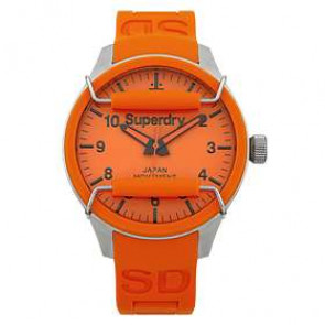 Uhrenarmband Superdry SYG109OG Silikon Orange