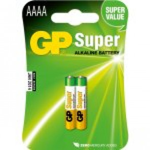 GP Batterie Super Alkaline AAAA - 1.5v