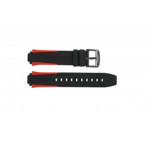 Uhrenarmband Tissot T1114173744101A / T603040970 Silikon Mehrfarbig