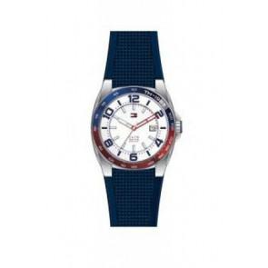 Uhrenarmband Tommy Hilfiger TH1790885 Kautschuk Blau 21mm