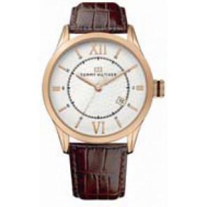 Uhrenarmband Tommy Hilfiger TH-85-1-34-0816 - TH679301079 Leder Braun 21mm