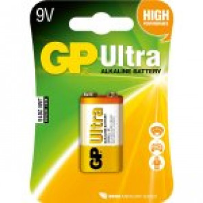 GP Batterie Ultra Alkaline 6LR61 - 9v