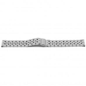 Uhrenarmband YJ27 Metall Silber 26mm