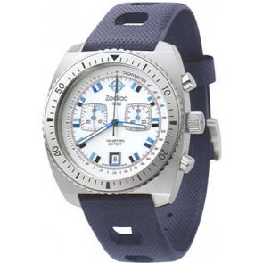Uhrenarmband Zodiac ZO2242 Kautschuk Blau