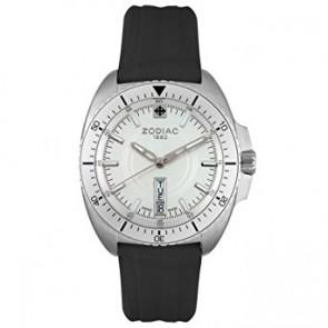 Zodiac Uhrenarmband ZO5500 Kautschuk Schwarz