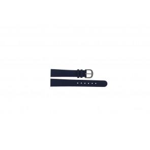 Danish Design Uhrenarmband ADDBE14 Leder Blau 14mm