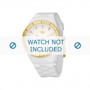 Adidas Uhrenarmband ADH2026 Silikon Weiß 22mm