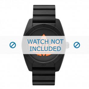 Adidas Uhrenarmband ADH2880 Silikon Schwarz 20mm