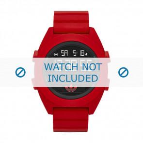 Adidas Uhrenarmband ADH2909 Silikon Rot 24mm