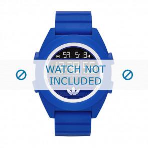 Adidas Uhrenarmband ADH2910 Silikon Blau 24mm