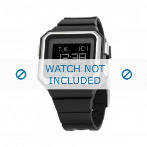 Adidas Uhrenarmband ADH6131 Silikon Schwarz 16mm
