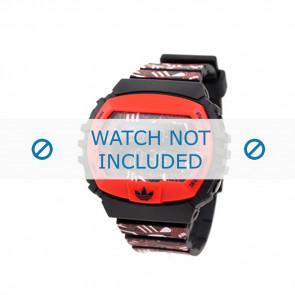 Adidas Uhrenarmband ADH6128 Silikon Rot 16mm