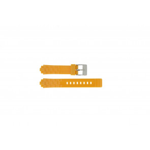 Adidas Uhrenarmband ADH2105 Gummi Orange 18mm