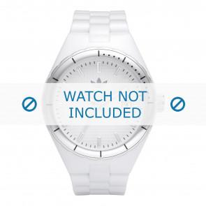Uhrenarmband Adidas ADH2124 Kautschuk Weiss 13mm