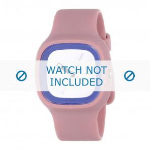 Alessi Uhrenarmband AL10023 Kunststoff Rosa