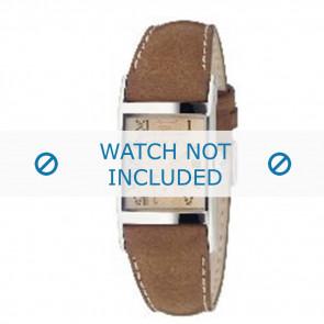 Armani Uhrenarmband AR0251 Leder Braun 22mm