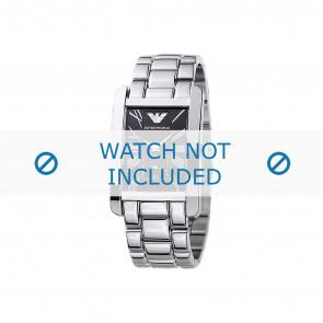 Armani Uhrenarmband AR0156 Metall Silber