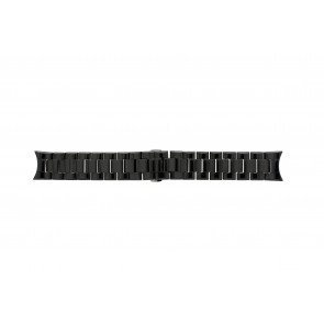 Uhrenarmband Armani AR1400 / AR1401 Keramik Schwarz 22mm