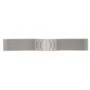 Mondaine Uhrenarmband BM20031 / 12622.ST.2 Metall Silber 22mm
