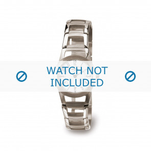 Boccia Uhrenarmband 3140-01 Titan Silber 22mm