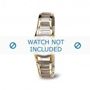 Boccia Uhrenarmband 3140-02 Titan Gold (Doublé) 22mm