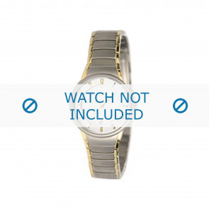 Boccia Uhrenarmband 3159 Titan Silber 16mm