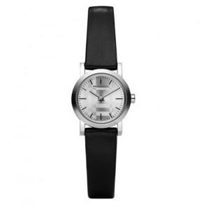 Uhrenarmband Burberry BU1761 Leder Schwarz
