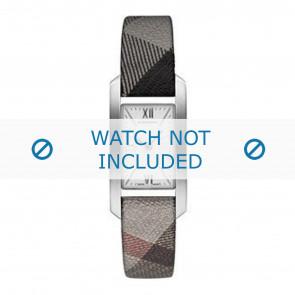 Burberry Uhrenarmband BU1115 Leder Grau