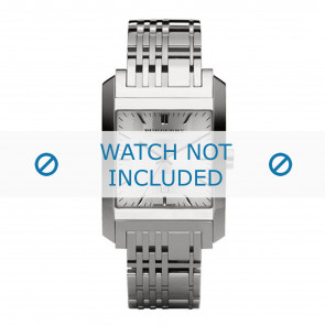 Burberry Uhrenarmband BU1567 Metall Silber
