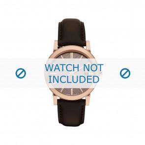 Burberry Uhrenarmband BU-9013 Leder Braun 20mm