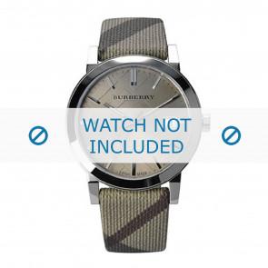 Burberry Uhrenarmband BU9023 Leder Cremeweiß / Beige