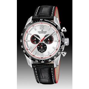 Uhrenarmband Candino C4681 Leder Schwarz