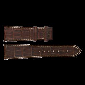 Certina Uhrenarmband C610011091 Leder Braun 23mm + weiße nähte