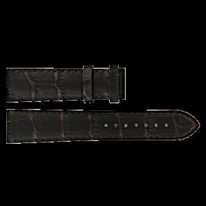 Certina Uhrenarmband C610016931 Leder Dunkelbraun 20mm + braunen nähte