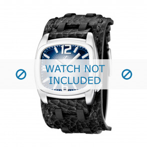 Calypso Uhrenarmband  K5224/3 Leder Schwarz 26mm