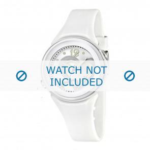 Calypso Uhrenarmband K5576-1 Kunststoff Weiss